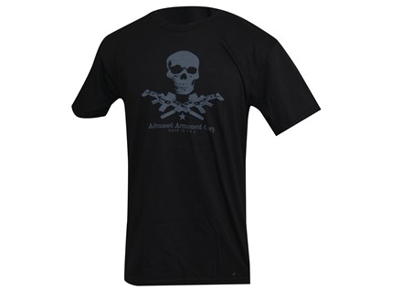 Advanced Armament Co (AAC) X-Guns Logo T-Shirt Short Sleeve Cotton