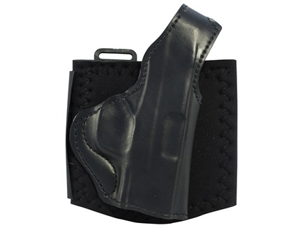 "DeSantis Die Hard Ankle Holster Right Hand Springfield XDS 3.3"" Leather Black"