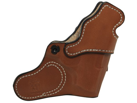 DeSantis Inner Piece Inside the Waistband Holster Left Hand Beretta Pico, Kahr P380 Leather Tan