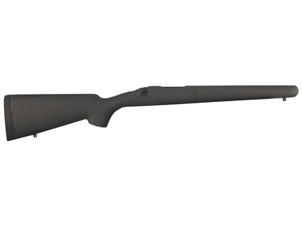 H-S Precision Pro-Series Rifle Stock Remington 700 ADL Short Action Varmint Barrel Channel Synthetic Black with Gray Web