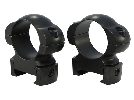 "Weaver 1"" Grand Slam Steel Top Mount Windage Adjustable Weaver-Style Rings Matte"