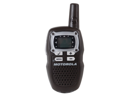 Motorola Talkabout MB140R Two-Way Radio Black Pack of 2
