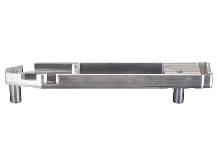 Whidden Gunworks Remington 700 Stock Bedding Block Long Action Right Hand with Magazine Cut-out Aluminum