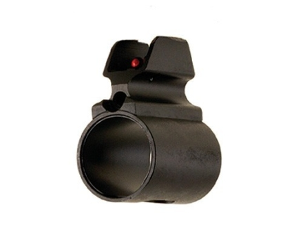 LPA BAR Tactical Series Barrel Band Shotgun Front Sight 12 Gauge Steel Blue Fiber Optic Red