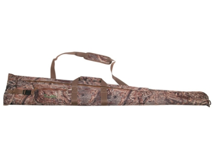 "Tanglefree Easy Side Opening Floating Shotgun Gun Case 55"" Nylon Mossy Oak Duck Blind Camo"
