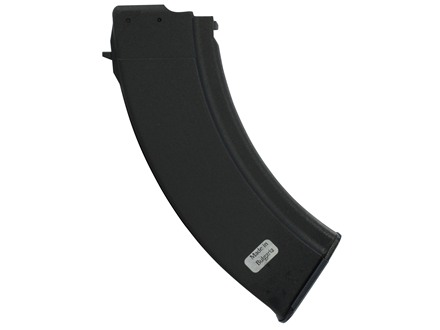 Military Surplus Magazine AK-47 7.62x39mm Russian 30-Round Polymer Black
