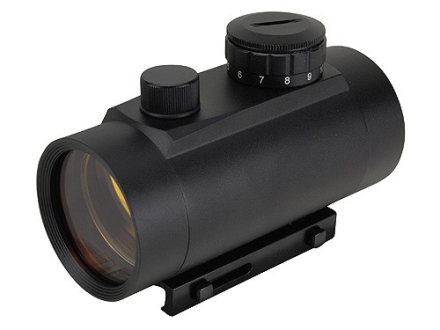 ADCO E-Dot Red Dot Sight 50mm Tube 1x 3 MOA Dot with Integral Weaver-Style Mount Matte