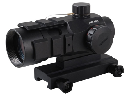 Burris AR-132 Red Dot Sight 1x 32mm 4 MOA Dot Matte