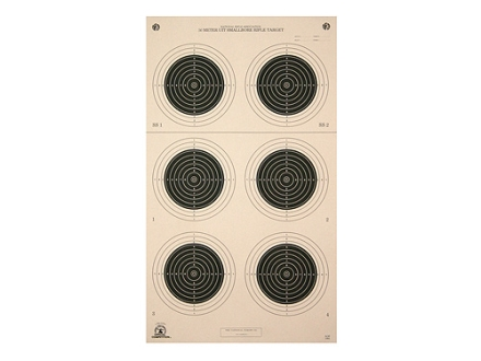 NRA Official Smallbore Rifle Target A-50 50-Meter UIT Paper Package of 100
