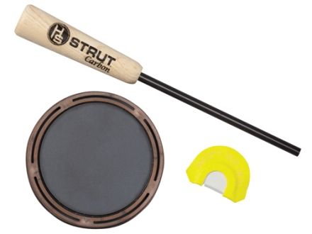H.S. Strut Raspy Old Hen Slate with Diaphragm Turkey Call Pack