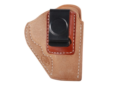 El Paso Saddlery EZ Carry Inside the Waistband Holster Right Hand Smith & Wesson J-Frame Leather Natural