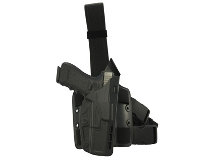 Safariland 7384 7TS ALS Tactical Holster Right Hand Glock 17, 22 Polymer Black