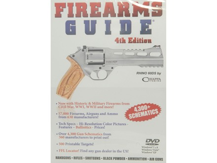Firearms Guide 4th Edition DVD-ROM By Impressium Media, Inc.