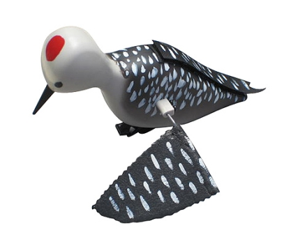 Outfoxed Products Whirling Woodpecker Electronic Predator Decoy