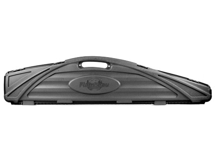 "Flambeau Safe Shot Economy Scoped Rifle Gun Case 53"" Polymer Black"