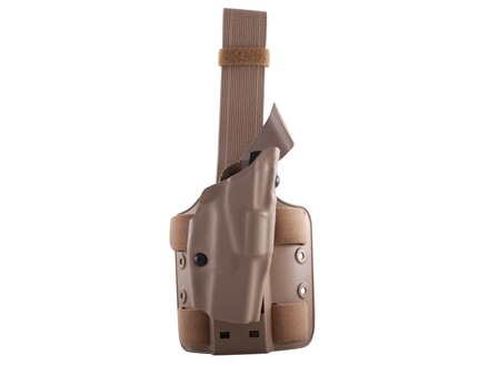 Safariland 6354 ALS Tactical Drop Leg Holster Right Hand Glock 19, 23, 32 Polymer Flat Dark Earth
