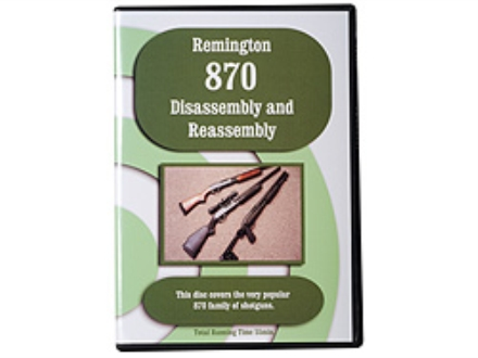 """Remington 870 Disassembly & Reassembly"" DVD"