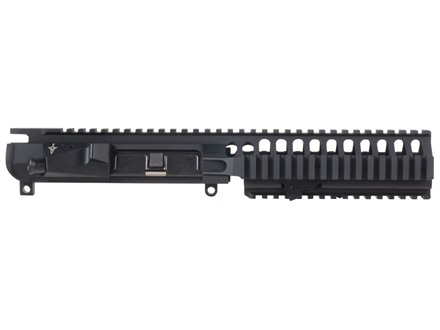 "Vltor VIS Upper Receiver with Integral 7"" Carbine Length Free Float Quad Rail Handguard & Combination Forward Assist / Shell Deflector Assembled AR-15 Flat-Top Matte"