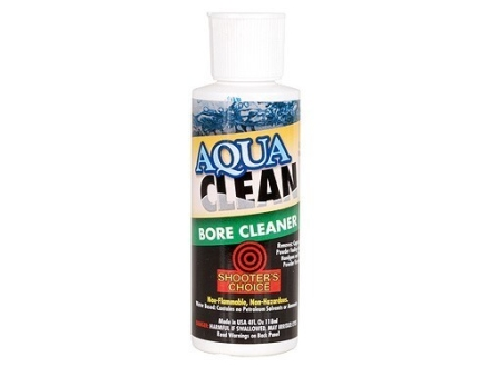 Shooter's Choice Aqua Clean Bore Cleaning Solvent 4 oz Liquid