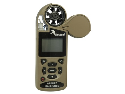 Kestrel 4500 Electronic Hand Held Weather Meter with Applied Ballistics Calculator