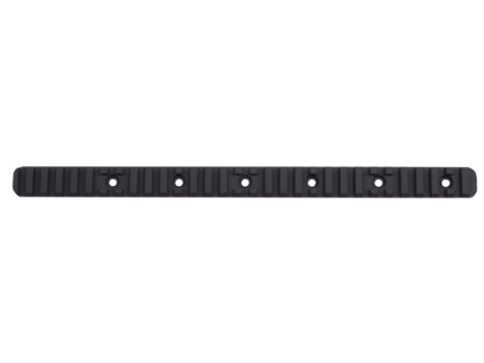 Nordic Components Rifle Length Top Rail Section for Slotted Customizable Free Float Tubes Aluminum Black