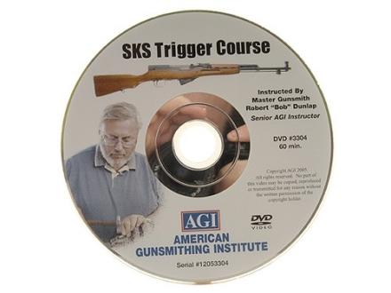 "American Gunsmithing Institute (AGI) Trigger Job Video ""The SKS Rifle"" DVD"