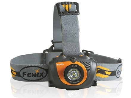 Fenix HL30 Headlamp LED with Batteries (2 AA alkaline) Aluminum/Polymer Plastic