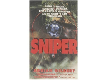 """Sniper"" Book by Adrian Gilbert"