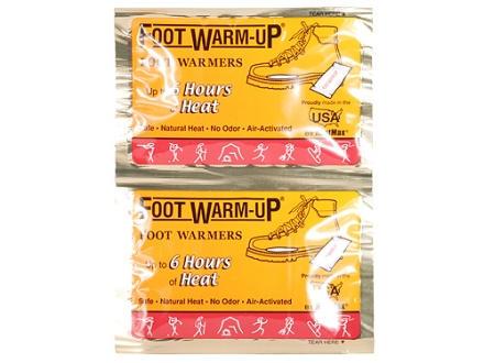 HeatMax The Foot Warmup Footwarmers Pack of 6