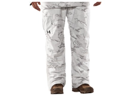Under Armour Men's Gunpowder Scent Control Waterproof Insulated Pants Polyester UA Snow Reaper Camo 34 Waist