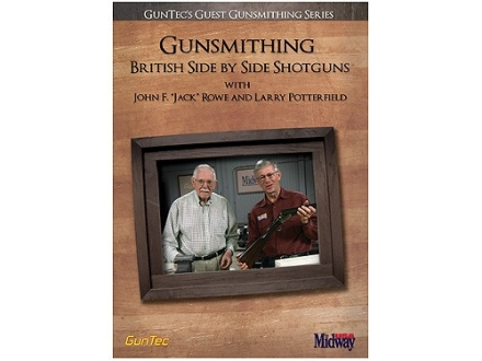 "GunTec Video ""Gunsmithing British Side by Side Shotguns with John F. 'Jack' Rowe and Larry Potterfield"" DVD"