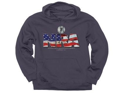 NRA Men's Flag Hooded Sweatshirt