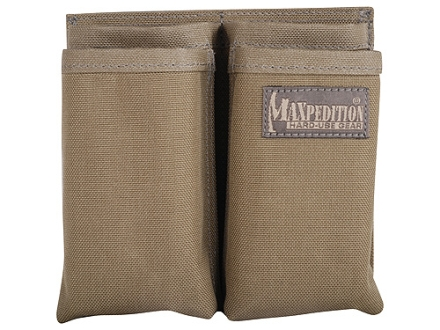 Maxpedition Hook-&-Loop Fastener Modular Insert for AR-15, M4, M16 Magazine Pouch Holds 4 Magazines Nylon Khaki Foliage