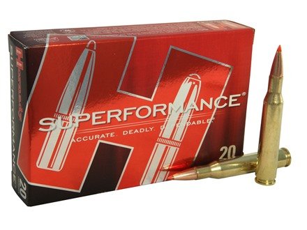 Hornady SUPERFORMANCE SST Ammunition 270 Winchester 130 Grain SST Box of 20