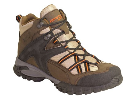Kenetrek Bridger Ridge Mid Waterproof Uninsulated Hiking Boots Leather and Nylon Brown Mens 9-1/2 Med
