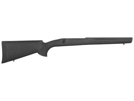 Hogue Rubber OverMolded Rifle Stock Winchester Model 70 Long Action Varmint Full Bed Synthetic Black