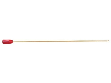 "Dewey 1-Piece Cleaning Rod Shotgun 26"" Brass 12 x 28 Male Thread with 5/16 x 27 Adapter"