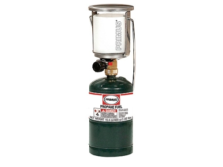 Primus Tor Jr. Propane Lantern 330 Lumens with Piezo Electronic Ignition Stainless Steel
