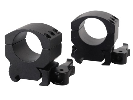 "Burris 1"" Xtreme Tactical QD Picatinny-Style Rings Matte Medium"