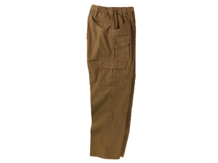 "Woolrich Elite Lightweight Pants Ripstop Cotton Canvas Coyote 40"" Waist 30"" Inseam"