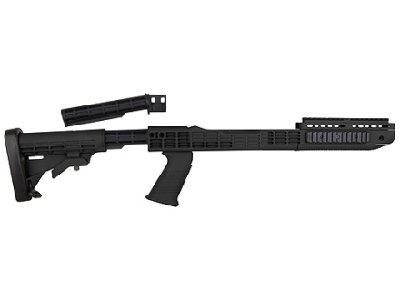 """TAPCO Intrafuse T6 Rifle Stock 6-Position Collapsible Ruger 10/22 .920"""" Barrel Channel Synthetic"""