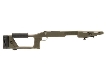"Choate Ultimate Sniper Rifle Stock Remington 700 ADL Long Action 1.25"" Barrel Channel Synthetic Olive Drab"
