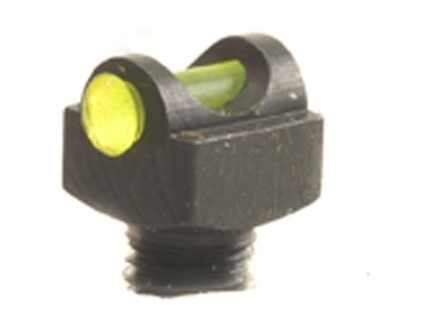 "Marble's Expert Shotgun Front Bead Sight .094"" Diameter 6-48 Thread .100"" Shank Fiber Optic Green"