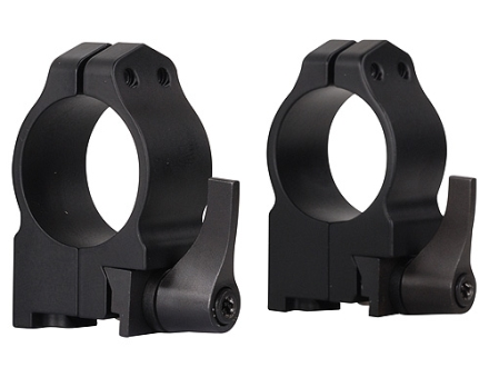 "Warne 1"" Quick-Detachable Ring Mounts Ruger 77 Matte Medium"