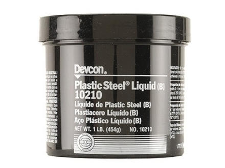 Devcon Plastic Steel Bedding Compound Liquid 1 lb