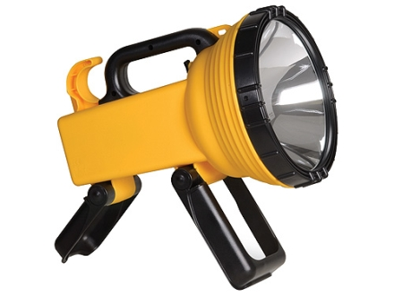 Cyclops Thor X Scout Spotlight Halogen with Rechargeable Batteries and AC/DC Adapter Polymer Yellow