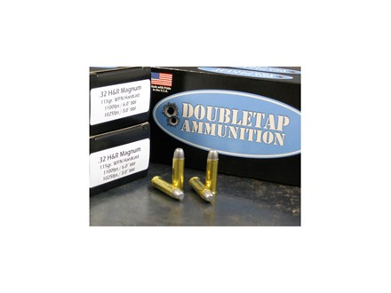 Doubletap Ammunition 32 H&R Magnum 115 Grain Lead Wide Flat Nose Box of 50