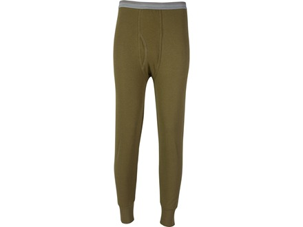 Indera Men's Hydropur Dual Face Fleece Performance Thermal Pants