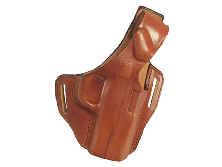 Bianchi 56 Serpent Outside the Waistband Holster Smith & Wesson M&P Compact 9mm, 40 Leather