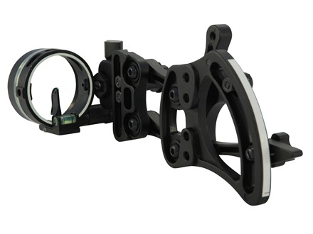 "TRUGLO Range Rover AC Micro Light 1-Pin Bow Sight .019"" Pin Diameter Aluminum Black"